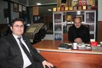 İl Sağlık Müdürü Seyfettin  Yeşilboya'dan Veda Ziyareti