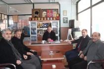 AK Parti Belediye Başkan Adayı Mustafa Buluş Nezaket Ziyaretinde Bulundu