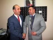 Bülent Kaya'dan İl Müdür vekili Salih Dursun'a Ziyaret