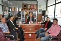 Milletvekili, Sinan Oğan Gazetemizi Ziyaret EderekCabbar Şıktaş'a Başarılar Diledi