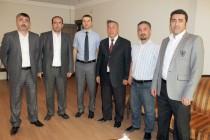Türkiye Azerbaycan Derneğinden Azerbaycan Konsolosuna Ziyaret