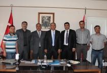 Türkiye Azerbaycan Derneğinden Iğdır Emniyet Müdürüne Ziyaret