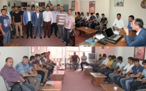 Gençler, MHP Iğdır il başkanlığını ziyaret etti