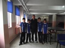 Okullar Masa Tenisi Turnuvasında Kıyasıya Yarıştı