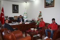 Kickboks Şampiyonları Iğdır Üniversitesini Ziyaret Etti