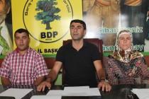BDP Iğdır İl Başkanı Mehmet Anar'dan Basın Açıklaması