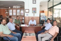 AK Parti Yönetiminden Gazetemize Ziyaret