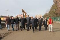 AK Parti Teşkilatı Iğdır'da Hizmetleri Gezdi
