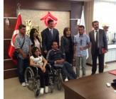 MHP Iğdır Milletvekili Dr. Sinan OĞAN, Yeşil Iğdır Engelliler Spor Kulübü Derneği ile Bakan Fatma ŞAHİN'i Ziyaret Etti