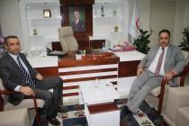 Rektör Prof. Dr. Yılmaz, Yeni Atanan İl Sağlık Müdürü Dr. Alpaslan Erol'u Ziyaret Etti