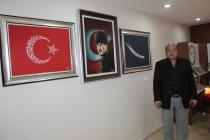 Iğdır'lı Ressam Erol Bat Resim Sergisi Açtı
