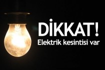Iğdır'da Elektrik Kesintisi