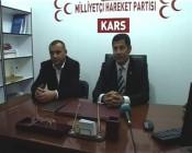 MHP Iğdır Milletvekili Oğan Kars'ta