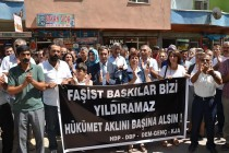 Gözaltılar protesto edildi