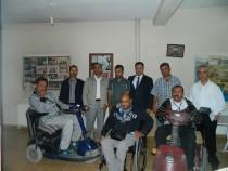 Yeşil Iğdır Engelliler Spor Kulübü Derneğine Ali Osman Şek'ten Anlamlı Ziyaret