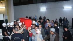 Şehit Polis Olgun Kurbanoğlu'nun Naaşı Memleketi Kars'a Getirildi