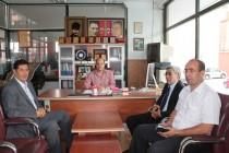 Milletvekili Oğan'dan Gazetemize Ziyaret