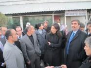 BDP'liler Emniyet Müdürlüğü Önünde Basın Açıklaması Yaptı