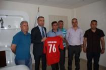 Iğdır Amatör Spor Kulüpleri Federasyonu Başkanlığı Teşekkür Ziyaretinde Bulundu!