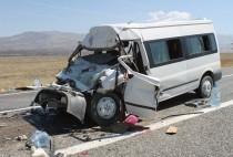 Iğdır'da Trafik kazası: 2 kişi yaşamını yitirdi