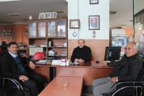 H. Kirman Kaya'dan Gazetemize Ziyaret