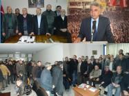 Yıldırım Turan'dan Ak Parti İl Başkanına Anlamlı Ziyaret