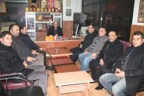 Ağrı Milletvekili Kerim Yıldız ve Partililer Nezaket Ziyaretinde Bulundu