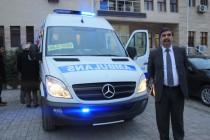 Iğdır Belediyesi Ambulans Aldı