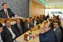 """Ak Parti İl Başkanı Mustafa Buluş""""Iğdır'ı Hizmete Boğmak için Halkın Desteğini Bekliyoruz."""" dedi"""