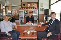 Aralık Kaymakamı Tolga Kamil Ersöz'den Gazetemize Ziyaret