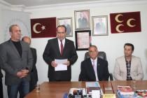 MHP Iğdır Belediye Başkan Aday Adayı Enver Türkoğlu Aday Adaylığını Açıkladı