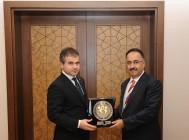Rektör Prof. Dr. Yılmaz'dan Gençlik ve Spor Bakanı Kılıç'a Ziyaret