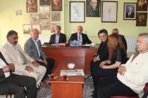 Iğdır Cumhuriyet Halk Partisinin 29 Ekim Cumhuriyet Bayramı Basın Açıklaması