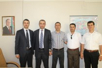 Sağlık Müdürü, Iğdır Konsolosu Asiman Aliyev'e İadei Ziyarette Bulundu