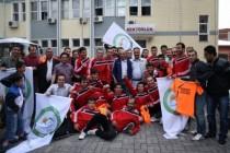 Bölgesel Amatör Lig'de Iğdır Üniversitesi Spor kendi evinde Düzyurt Spor'a 3-1 yenildi