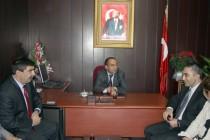 Başkan Malk'tan Baro Başkanı ile Başhekime Ziyaret