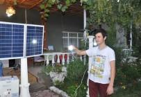 Iğdır' Da  İlk Olarak Uygulanan Solar Güneş Enerjisiyle Ev Ve Bahçe Aydınlatılması Yapıldı