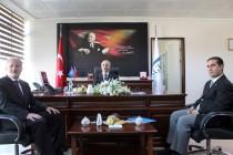 Vali Ahmet PEK Iğdır Sosyal Güvenlik İl Müdürlüğünü  Ziyaret Etti