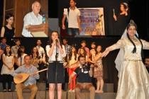 Iğdır MEV Anadolu Lisesinden Şiir ve Türkü Dinletisi