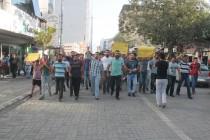 Şehit Polis İçin Yürüyüş Düzenlendi