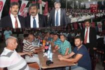Karakoyunlu MHP İlçe Teşkilatından İftar Yemeği